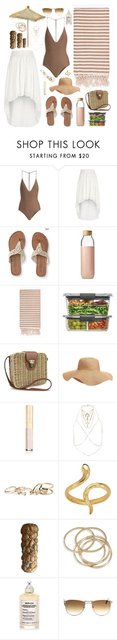 """Beach"" by anishagarner ❤ liked on Polyvore featuring Jade Swim, River Island, Aéropostale, Soma, Turkish-T, Rubbermaid, Old Navy, Dolce&Gabbana, GUESS and Madina Visconti di Modrone"