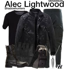 Inspired by Matthew Daddario as Alec Lightwood on Shadowhunters.