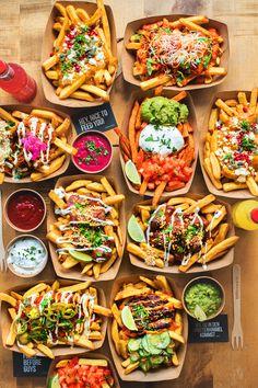 Pub Food, Cafe Food, Food Truck Menu, Food Trucks, Food Platters, Food Goals, Aesthetic Food, Food Cravings, Food Presentation