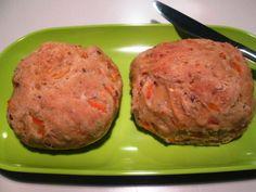 Gulerodsboller med Frø og Havregryn