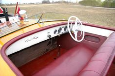 1952 18' Chris-Craft Riviera Runabout Chris Craft For Sale, Chris Craft Boats, Classic Boats For Sale, Classic Wooden Boats, Runabout Boat, Boat Restoration, Electric Boat, Wood Boats, Power Boats