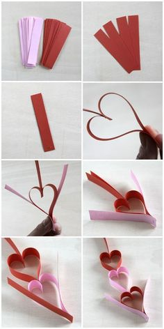 48 Diy Valentine's Day Decor Buntings – Valentinstag Valentine's Day Crafts For Kids, Diy For Kids, Diy And Crafts, Valentinstag Party, Diy Valentine's Day Decorations, Valentines Day Decorations, Decor Diy, Wedding Decorations, Valentines Day Party