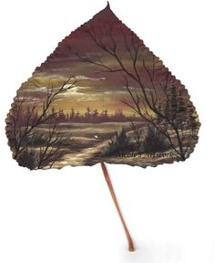 http://www.artbynicole.4t.com/images/sunset_trail_on_leaf.jpg