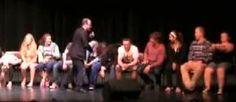 Hypnotist JimmyG Instantly Hypnotizes College Students at College Hypnosis Show