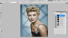 Tutoriais Photoshop - Colorindo fotos antigas | Coloring old photos