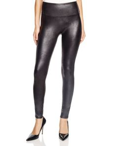 0537359a833c5 SPANX® Faux Leather Leggings Women - Bloomingdale s