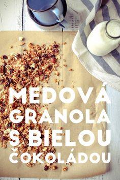 Medová granola s bielou čokoládou