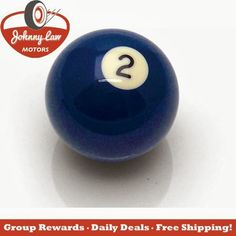 Daily Deal!!!   The Johnny Law Motors Pool Ball Shift Knob is only $9.99!!! Save $15.95 by ordering online today. Just click the LINK below!   http://www.johnnylawmotors.com/catalog/Interior/Shift-Knobs/Bank-Shot-Billiard-Shift-Knobs/521490/Pool-Ball-Shift-Knob&refid=5602