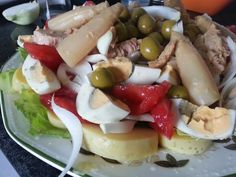 Ensalada mixta deliciosa. De Tahona Artesanal Gourmet Bilbao.