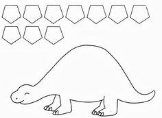 twanneke, dinosaur, shapes, pentagon shapes