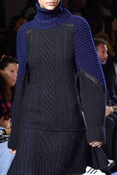 forlikeminded: Sacai - Paris Fashion Week - Fall 2015