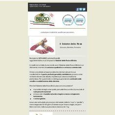 Il Salame della Rosa di Brizio è stato premiato nel 2016 come miglior salame crudo del Cuneese nel concorso indetto dall'Organizzazione Nazionale Assaggiatori Salumi (ONAS).  #salamedellarosa #briziosalumi #salumipiemontesi #onas #salami #salamecrudo