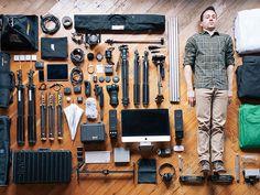 A Man & His Tools
