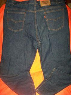 W42 L25,Levi 517,100% Cotton,Dark Blue,Regular Fit,Classic,Men Jeans #Levis #RegularFit