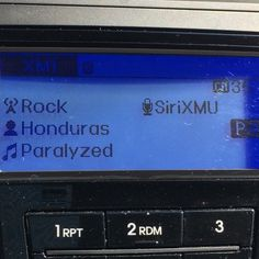 This helped with the hangover  thanks @siriusxmu