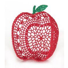 crochet apple basket