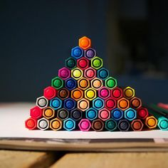 Qual o tamanho da sua pirâmide?  (Foto: STABILO Alemanha)