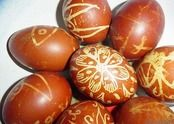 Serbian Easter eggs