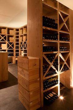 Belgian design winecellar