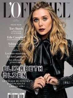 Elizabeth Olsen for L'Officiel Paris September 2015