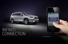 Infiniti Connection allows you to see things you never thought would be possible from a car. Only from Infiniti.