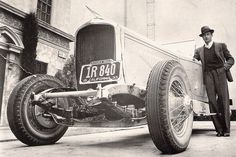 The Film Canister - Gary Cooper and his car.