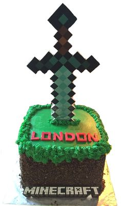 Minecraft Birthday Cake on Cake Central