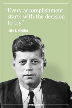 These inspirational quotes by John F. Kennedy prove his wisdom is as legendary as his presidency. Jfk Quotes, Kennedy Quotes, Wise Quotes, Quotable Quotes, Great Quotes, Funny Quotes, Inspirational Quotes, Quotes Women, Motivational