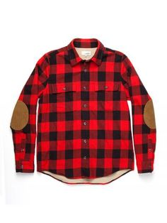 Jackson Buffalo Check Shirt. This looks boys' shirt, but I love the pattern