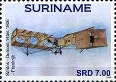 Stamp: Aircrafts (Suriname) (Aircrafts) Col:SR 2016-080
