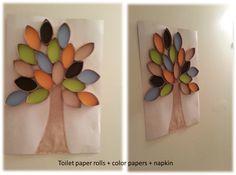Tree Art-Recycling