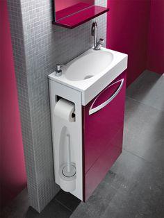 Factors to Consider When Installing Bathroom Cabinets - Life ideas Interior Design Toilet, Small Bathroom Interior, Tiny House Bathroom, Bathroom Design Small, Bathroom Cabinets, Bathroom Furniture, Bathroom Sinks, Furniture Decor, Outdoor Furniture