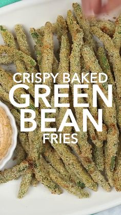 Looking for easy green bean recipes? These crispy green bean fries are quick to make with very few ingredients dizzybusyandhungry greenbeanfries greenbeans greenbeanrecipes 319614904805509610 Best Vegetable Recipes, Vegetable Side Dishes, Vegetarian Recipes, Crispy Green Beans, Baked Green Beans, Easy Green Bean Recipes, Greens Recipe, Side Dish Recipes, Food Dishes