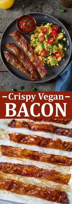 Crispy Vegan Bacon