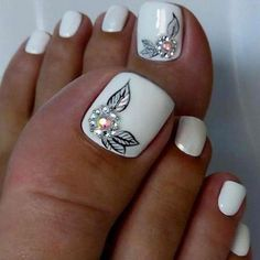 50 Cute Summer Toe Nail Designs to Flaunt Pretty Nails – 9 Quotes About Friendship Pretty Toe Nails, Cute Toe Nails, My Nails, Easy Toe Nails, Simple Nails, Toe Nail Color, Toe Nail Art, Nail Colors, Nail Nail