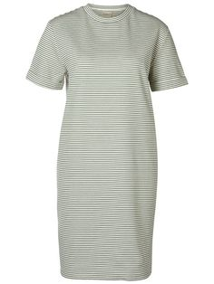 Jineen Sweat Dress in White Myrtle by Selected Femme