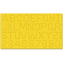 Alphabet and Number Pegboard 048533226535
