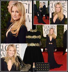 """Kate Hudson on Golden Globe Awards 2013"" by judit99 ❤ liked on Polyvore"