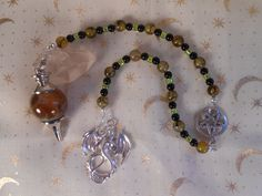 Dragon Energy Divination Pendulum by Ravenbirch on Etsy, $20.00