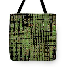 9647 Abstract Tote Bag featuring the digital art 9647 Abstract by Tom Janca