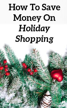How To Save Money On Holiday Shopping Saving Ideas, Money Saving Tips, Life On A Budget, Household Expenses, Managing Your Money, Inexpensive Gift, Budgeting Tips, Ways To Save Money, Finance Tips