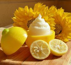 DIY Lemon Coconut Moisturizer.