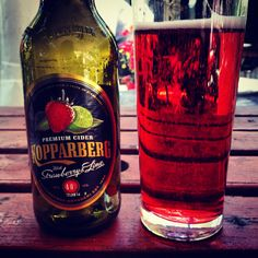 Strawberry & Lime Koppaberg - my favourite.