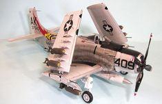 Zoukei Mura 1/32 A-1H Skyraider, by Tom Cleaver