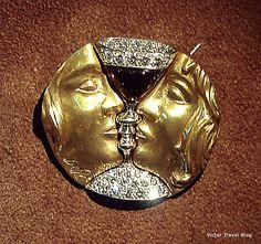 Romeo anв Juliet. Salvador Dali jewelry