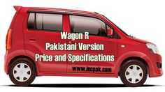 Wagon R Price and Specifications in Pakistan