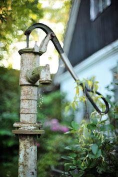 outdoormagic:  Old water pump by Michaela Stejskalova