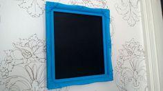 Vintage framed chalk board