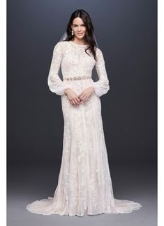 Browse Melissa Sweet wedding dresses at David's Bridal! Cap sleeve wedding dresses, lace gowns, and mermaid bridal dresses will sweep you off your feet. Luxury Wedding Dress, Wedding Dress Trends, Best Wedding Dresses, Designer Wedding Dresses, Wedding Gowns, Wedding Ideas, Modest Wedding, Lace Wedding, Wedding Inspiration