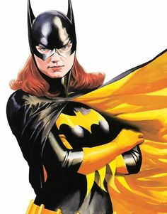 Batgirl, art by Alex Ross Batwoman, Dc Batgirl, Nightwing, Barbara Gordon, Alex Ross, Comic Book Artists, Comic Books Art, Comic Art, Bob Kane